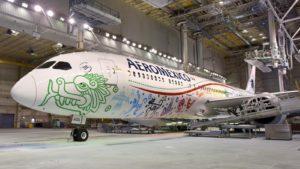 Así luce el primer Boeing 787-9 Dreamliner de Aeroméxico