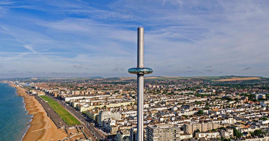 La torre de observación British Airways i360, una atracción en problemas