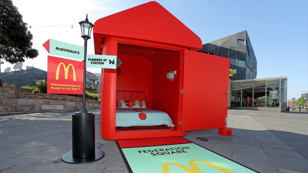 McDonald's abrió el primer Monopoly Hotel