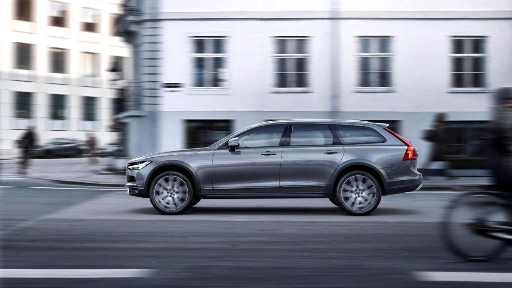 Volvo lanzó el nuevo V90 Cross Country