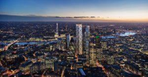 La torre más alta de Londres se achica