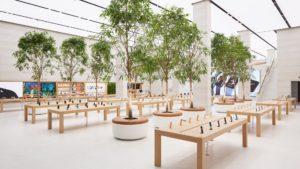 Este es el nuevo diseño de las tiendas de Apple con el sello de Foster + Partners