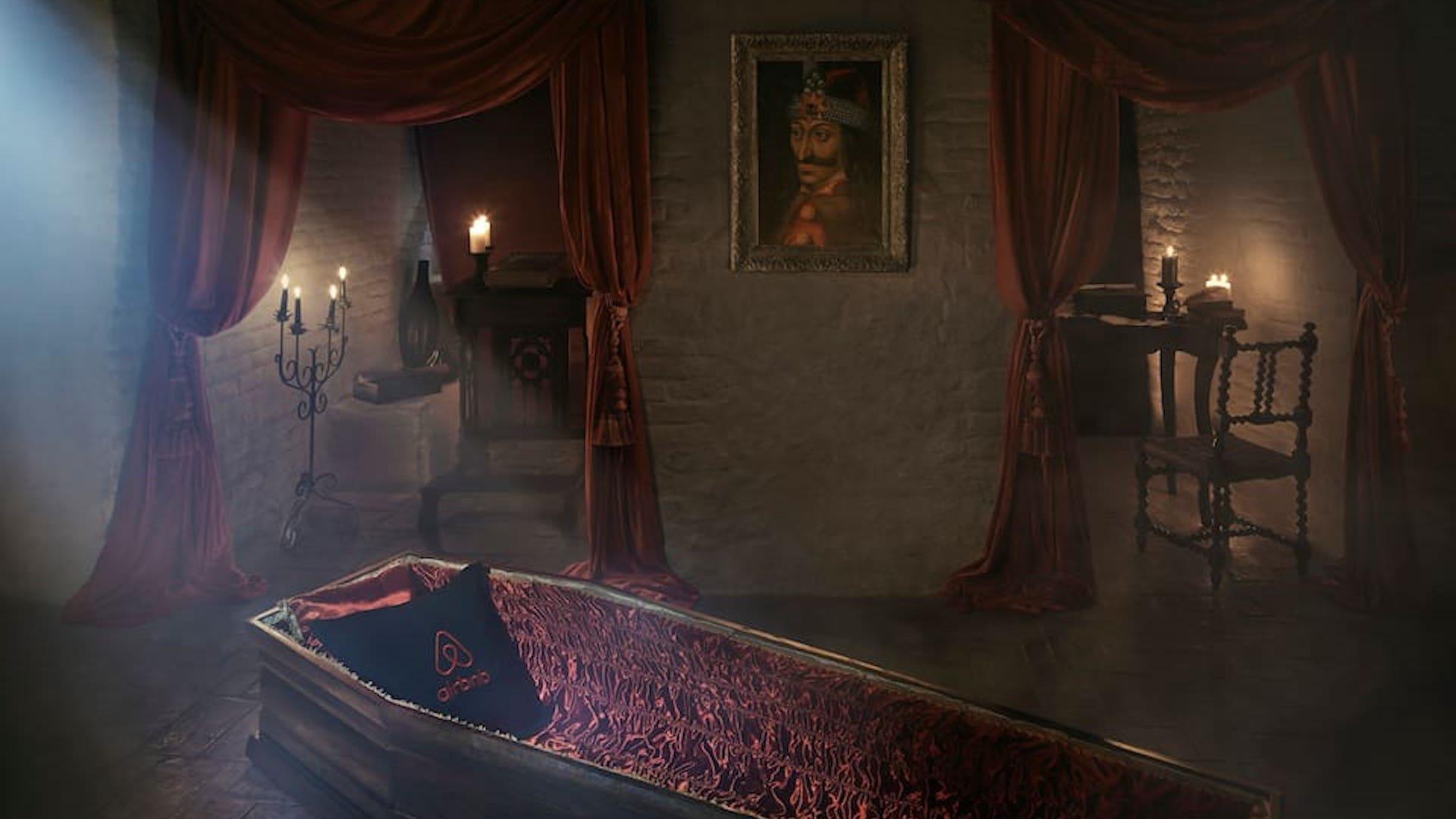 Concurso para ganarse una noche en el Castillo de Drácula