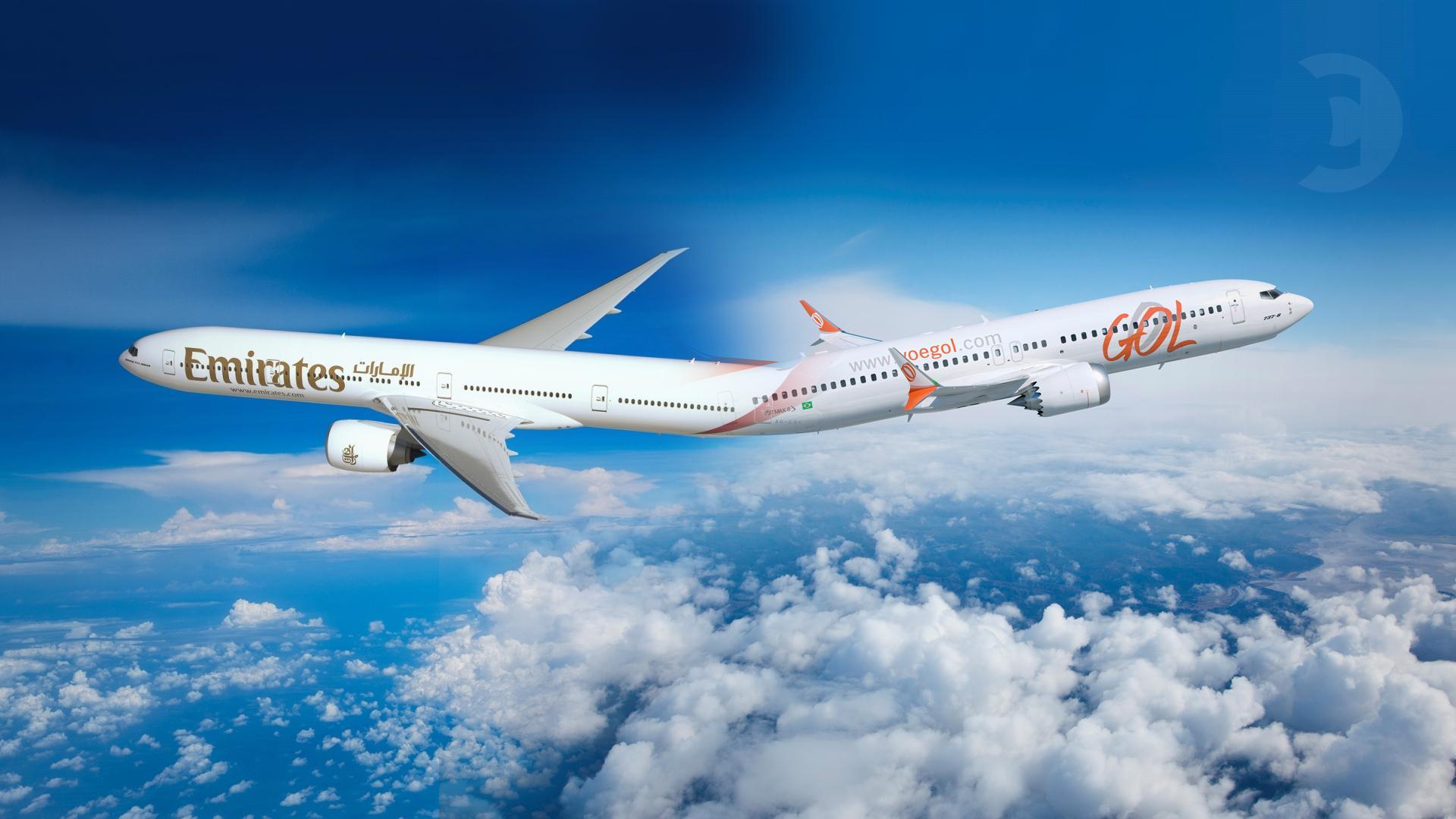 GOL y Emirates anuncian acuerdo de código compartido