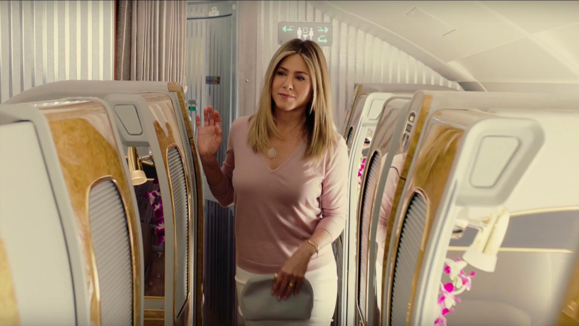 Jennifer Aniston regresa a Emirates con una nueva publicidad