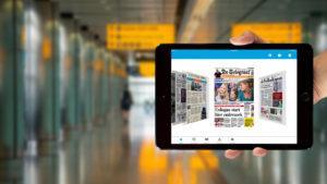 KLM lanzó una app móvil con diarios gratuitos
