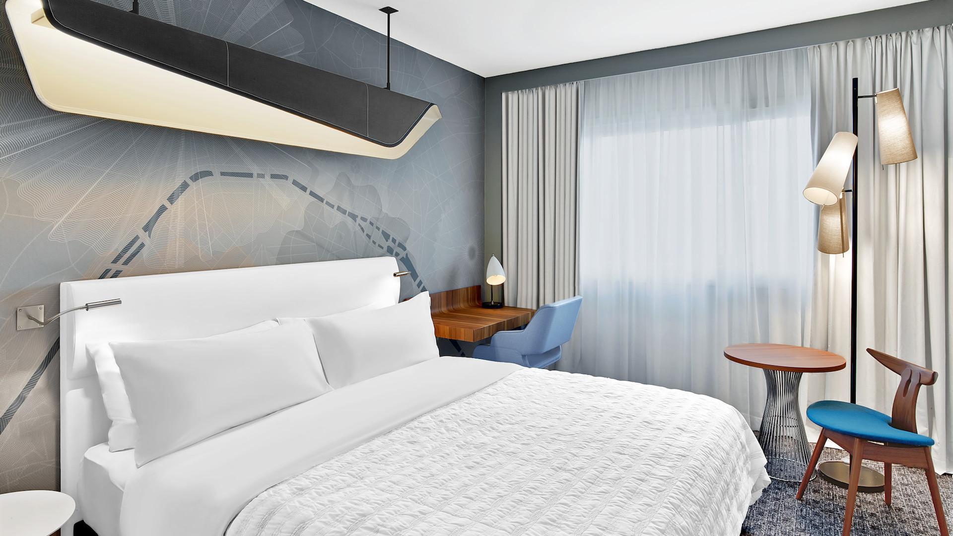Este es el remodelado Le Méridien, el hotel más grande del centro de París