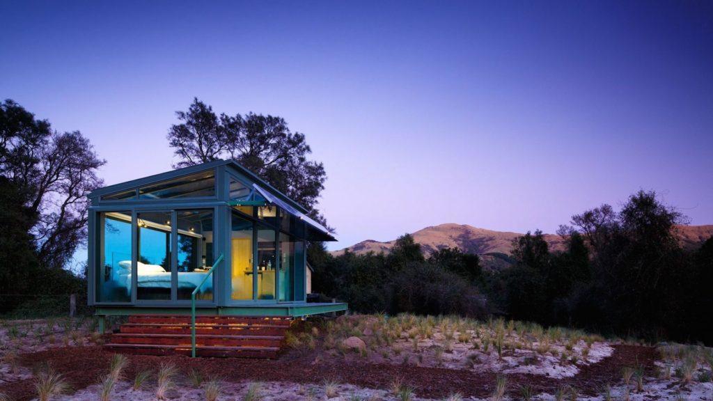 PurePod: esta es la habitación completamente vidriada para disfrutar de la naturaleza de Nueva Zelanda, sin obstáculos