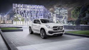 Mercedes-Benz Concept X-Class: adelanto de la nueva pick up de la automotriz alemana