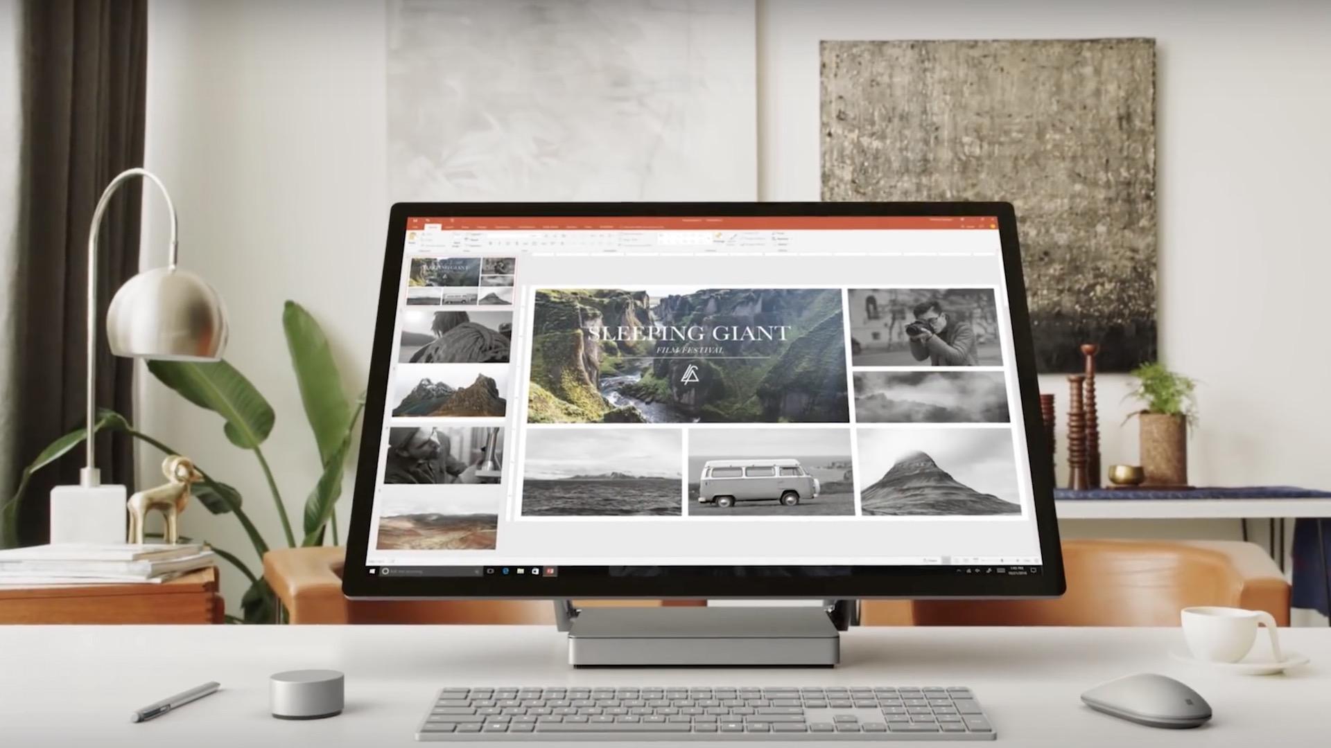 Microsoft Surface Studio: la impresionante rival del iMac