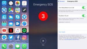 """La nueva versión de iOS trae un """"botón de alerta"""" para los usuarios del iPhone"""