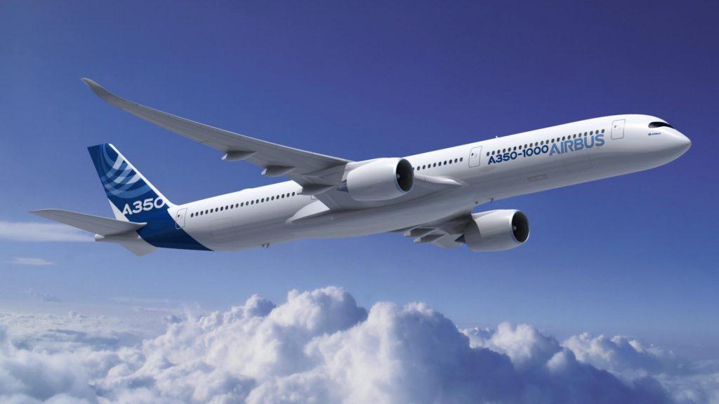 El nuevo Airbus A350-1000 realizó su primer vuelo de prueba