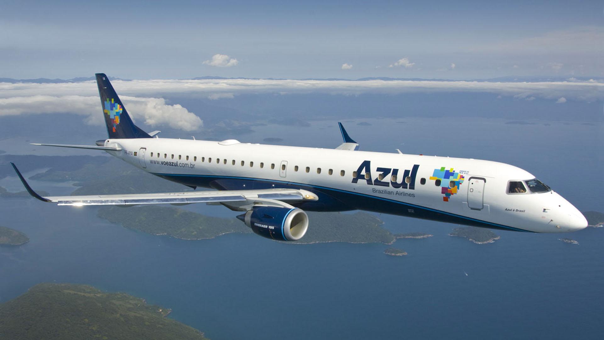 La aerolínea lowcost Azul desembarca en Argentina desde febrero de 2017