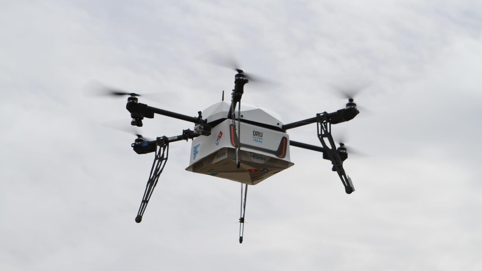 Domino's ya entrega pizzas con drones