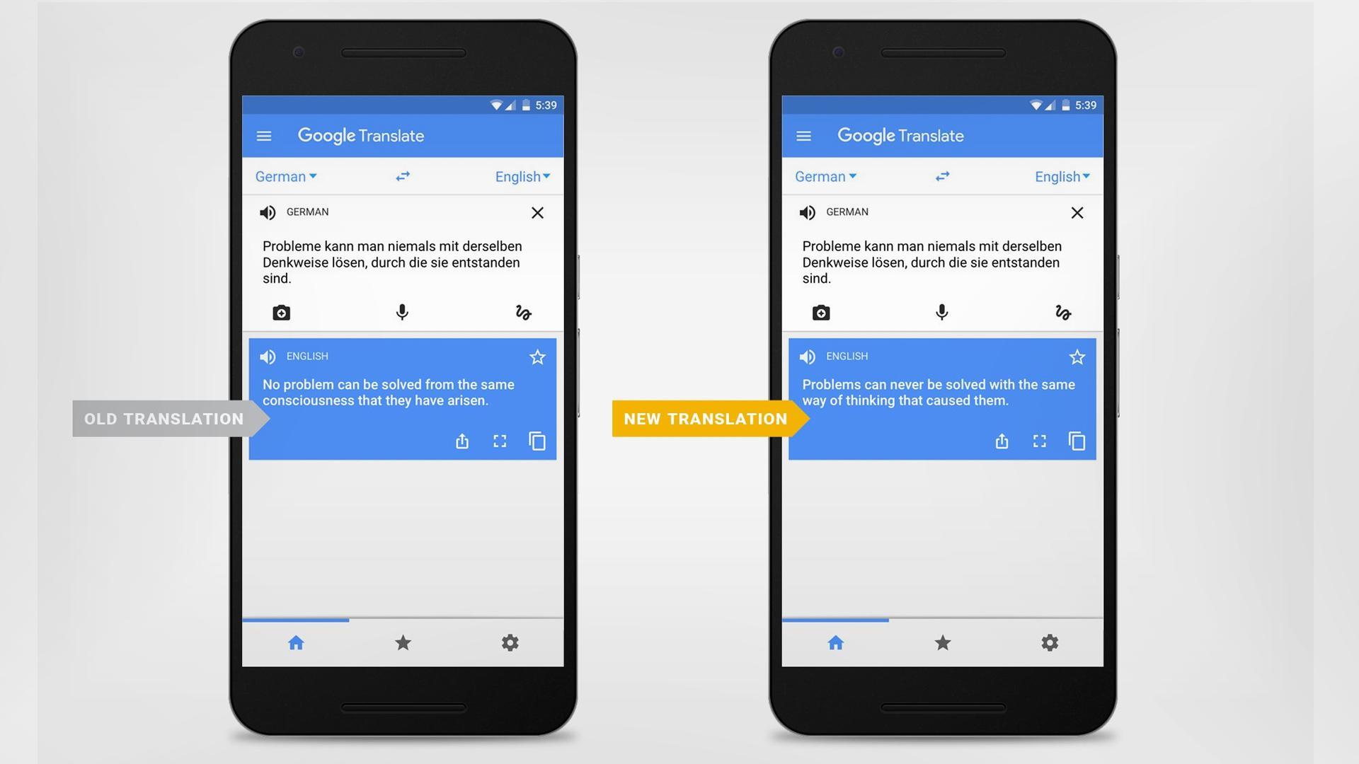 Google Translate ahora traduce mucho mejor