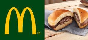 McDonald's lanzó la hamburguesa de Nutella