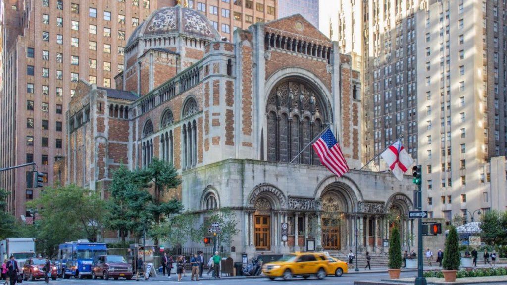 Una de las iglesias icónicas de Nueva York, San Bartolomé, elegida sitio histórico nacional