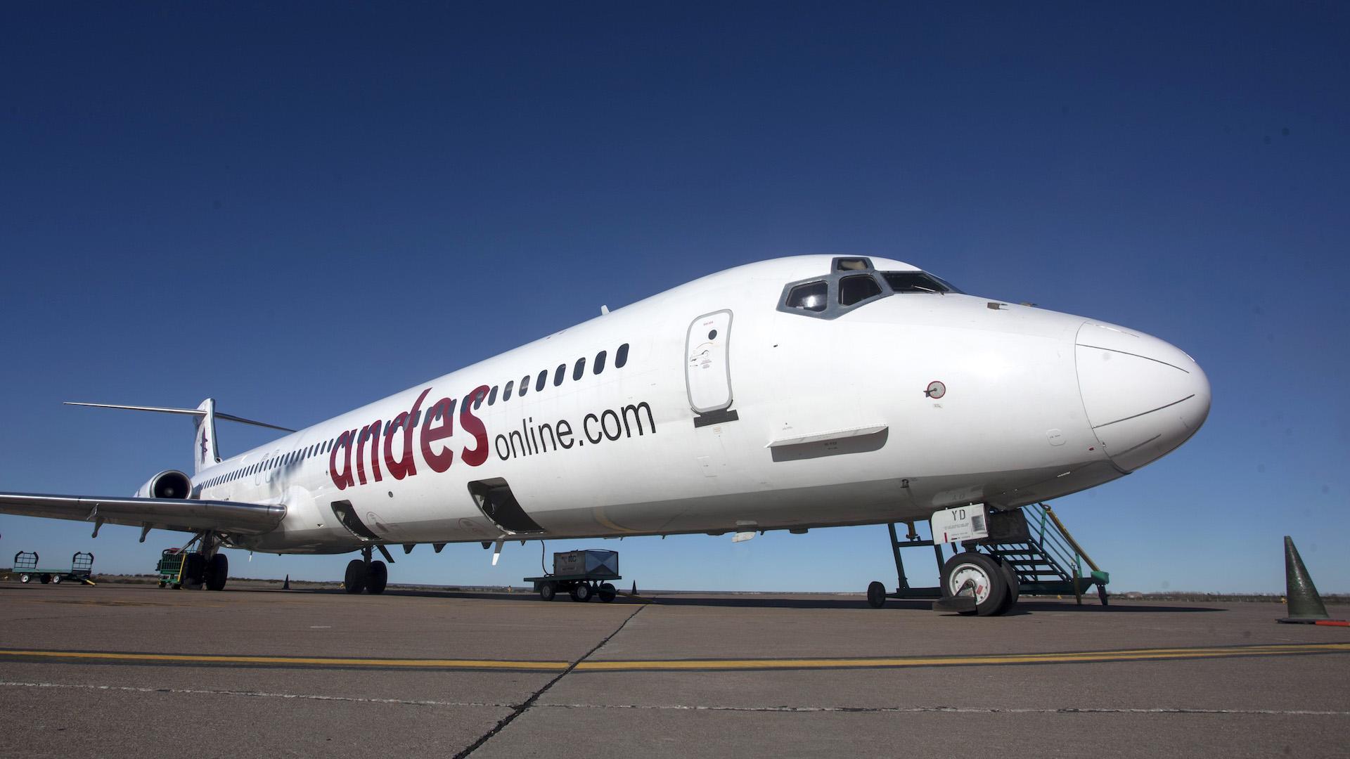 La aerolínea Andes lanza ofertas en Argentina con pasajes a precio de micro