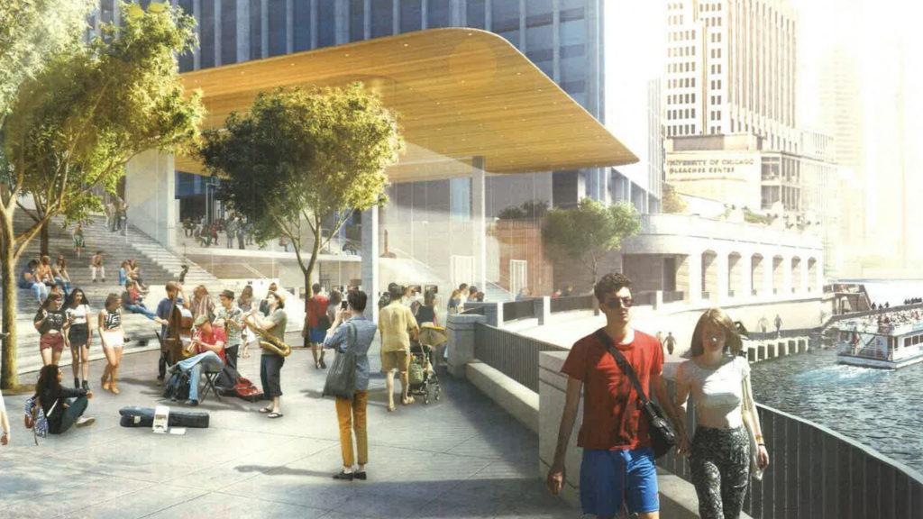 Así será el nuevo Apple Store en Chicago con la mejor vista de la ciudad