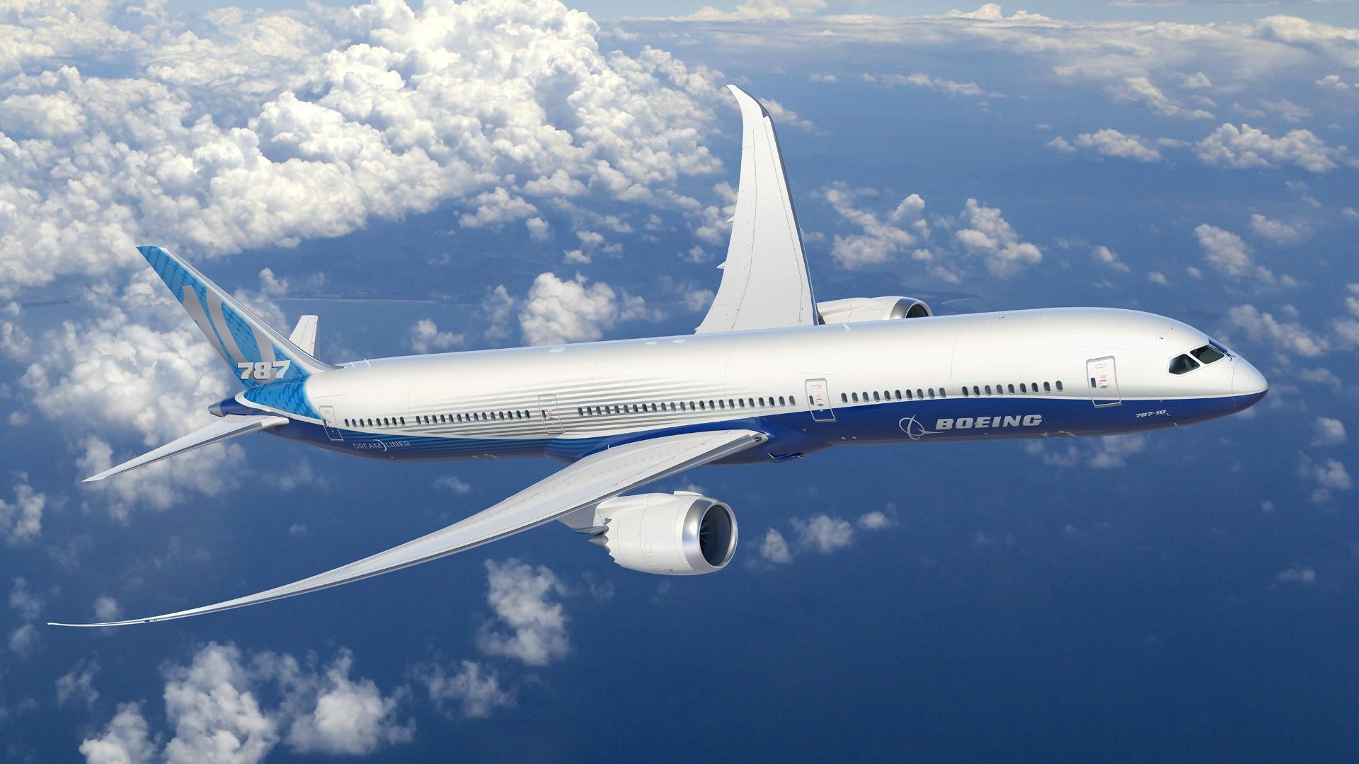 Boeing presentó el nuevo 787-10, su Dreamliner más grande