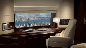 Las ventanas panorámicas llegan a los aviones de la mano de Boeing