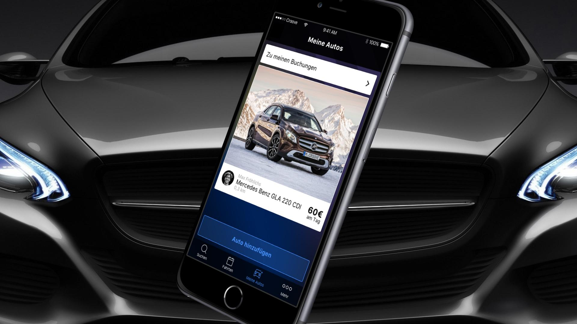 Mercedes-Benz lanzó Croove, como Airbnb pero para automóviles