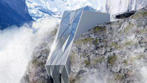 Proponen un sorprendente hotel en los Alpes