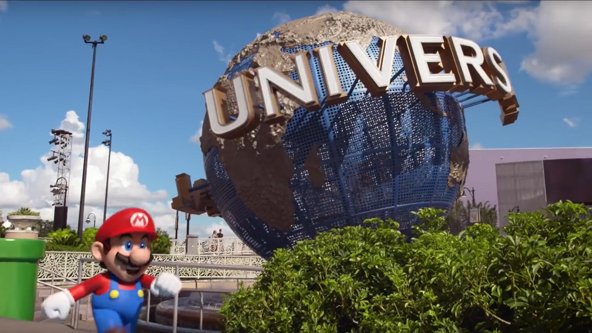 Universal Studios da un adelanto de cómo será Nintendo Worlds