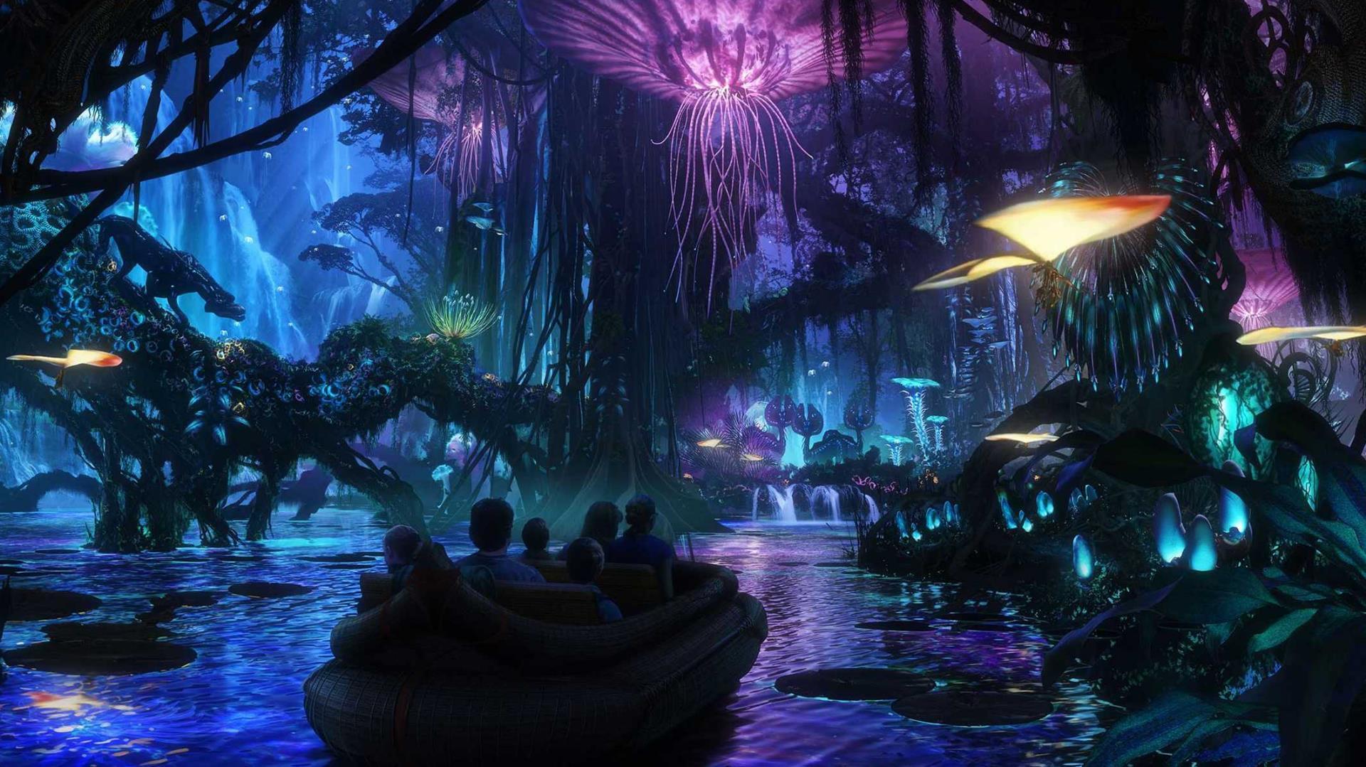 Así será Pandora: The World of Avatar, el nuevo parque de Disney