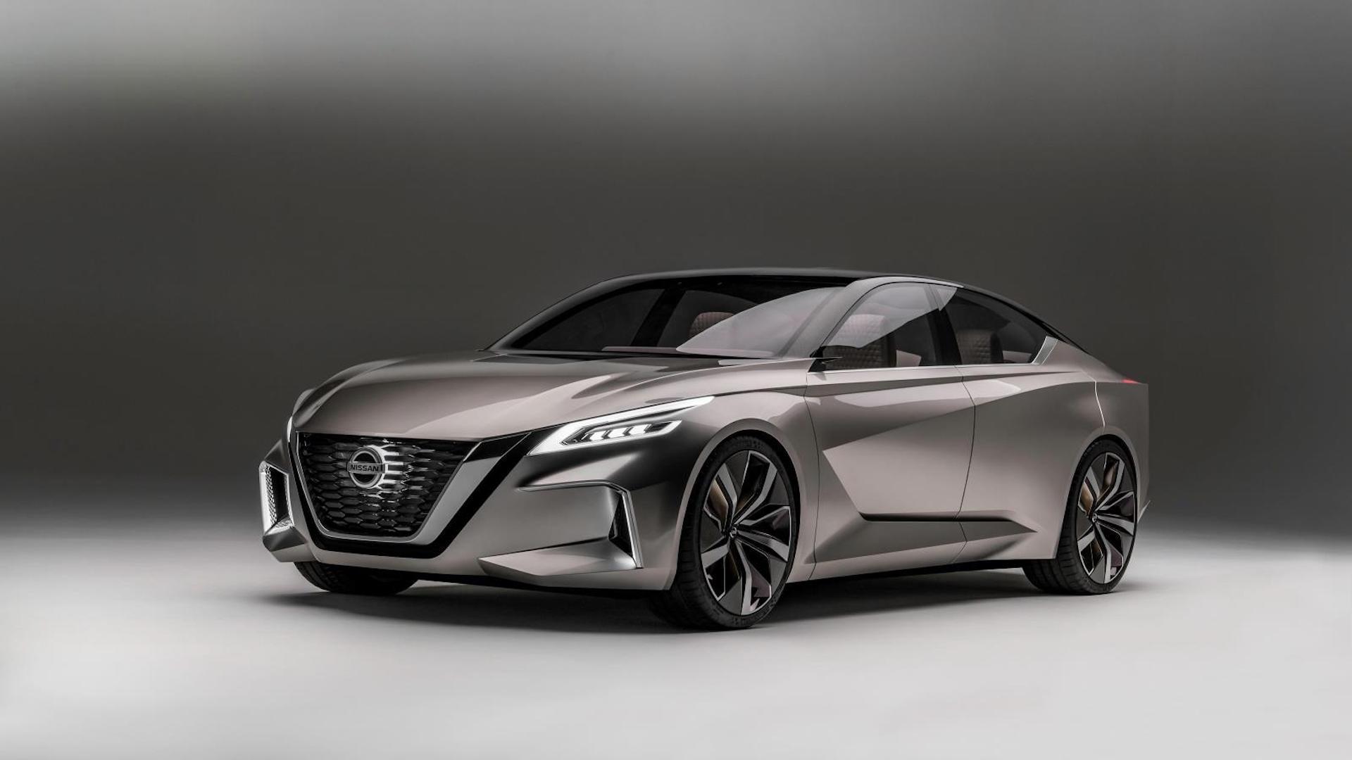 [Imágenes] Este es el novedoso Nissan Concept VMotion 2.0
