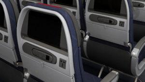 ¿Desaparecen las pantallas en los aviones?