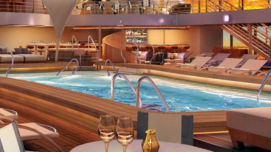 Cómo es el nuevo crucero de lujo de Seabourn
