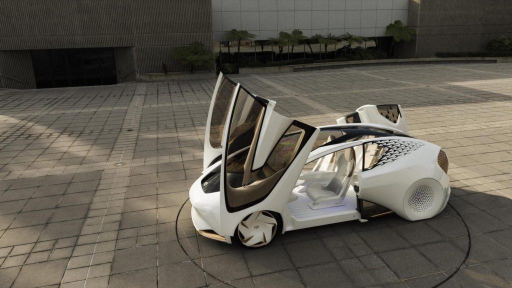 [Imágenes] Este es el novedoso Toyota Concept-I