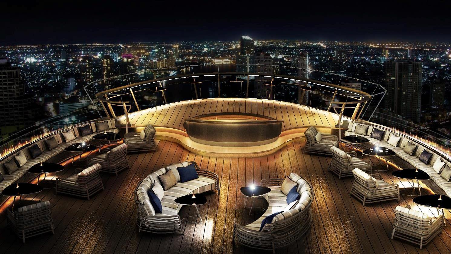 El Whisky Bar abierto más alto del mundo inaugura en Bangkok