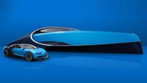 El yate de Bugatti es todo lo que queremos (jacuzzi incluido)