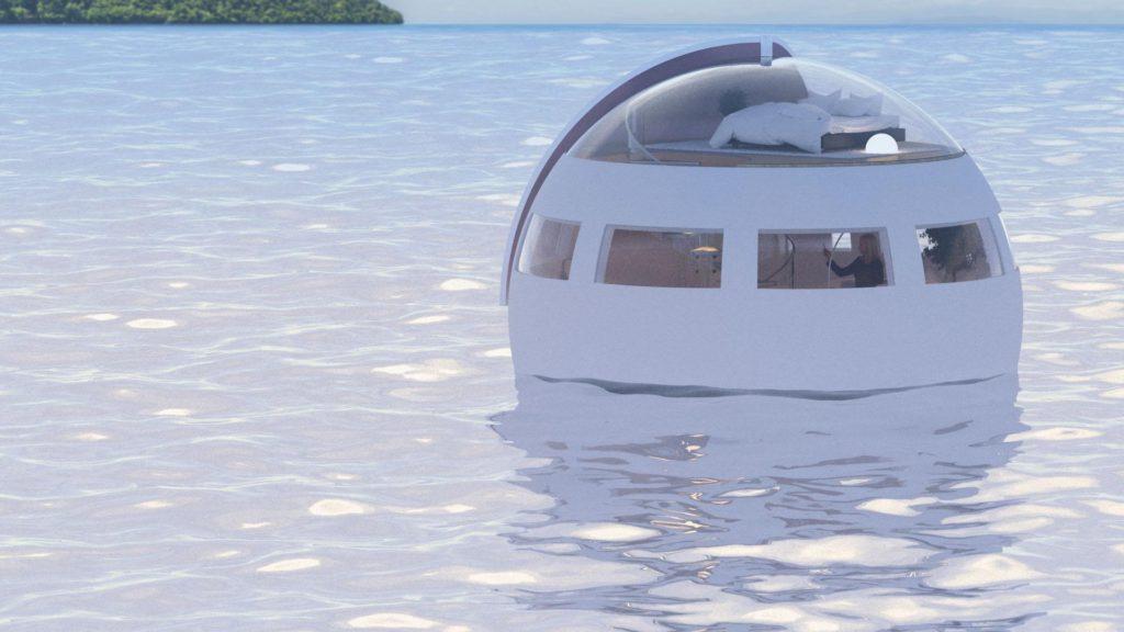 Podremos dormir en una cápsula que viajará durante la noche para llegar a una isla