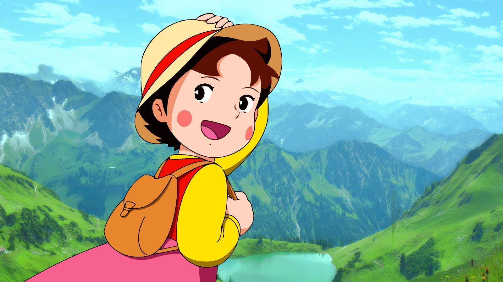 Abrirán un nuevo parque temático de Heidi en los Alpes Suizos