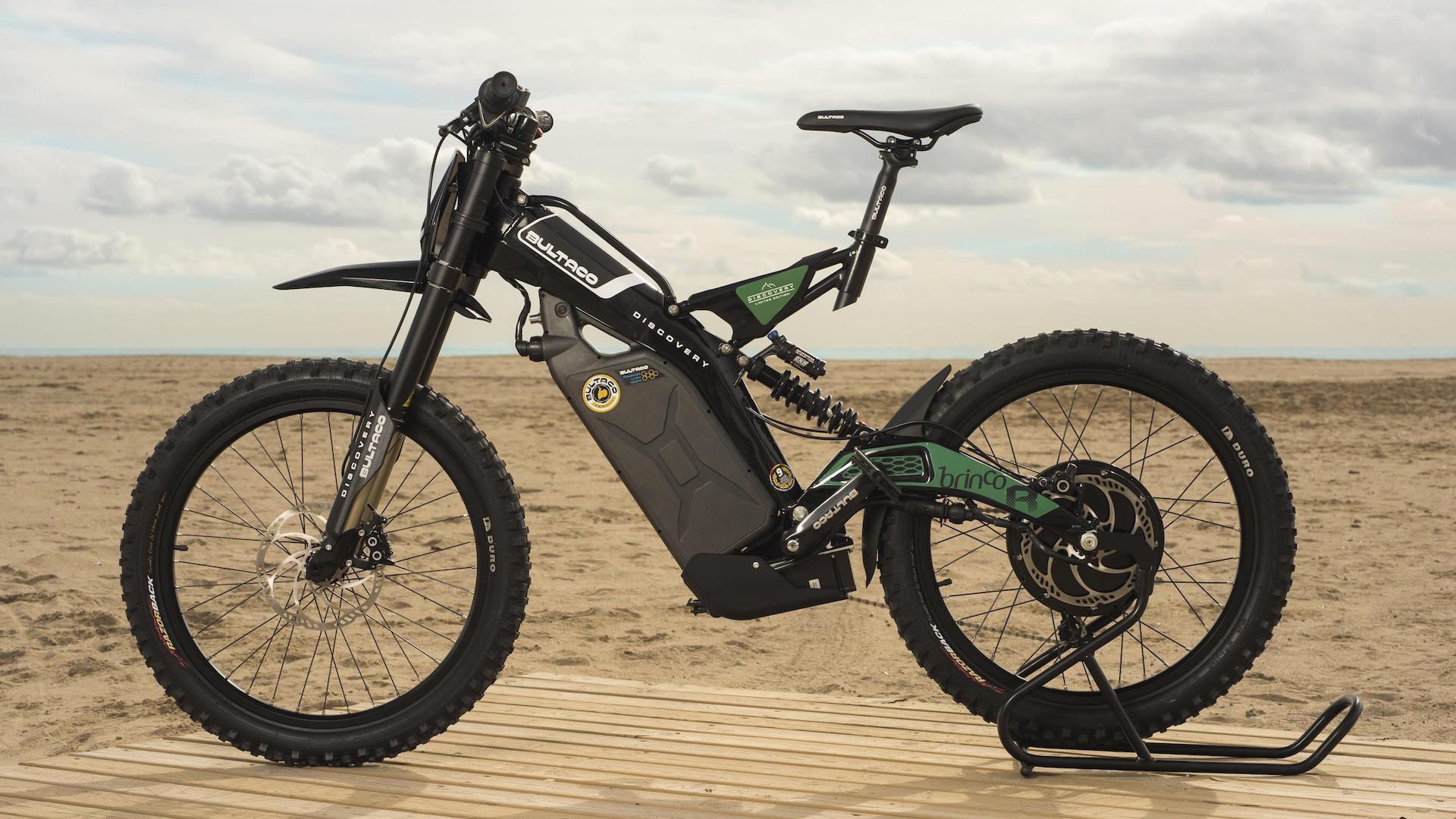 [Imágenes] La nueva moto bike eléctrica con el sello de Land Rover y Bultaco. ¿Cuánto cuesta?