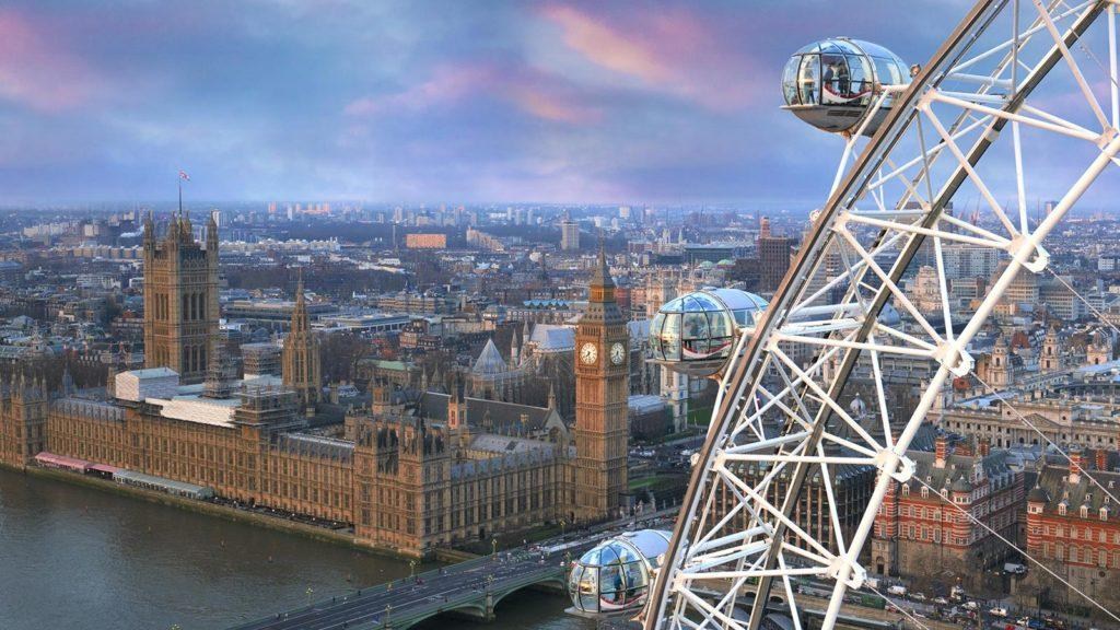 Por una única noche, será posible dormir en el London Eye