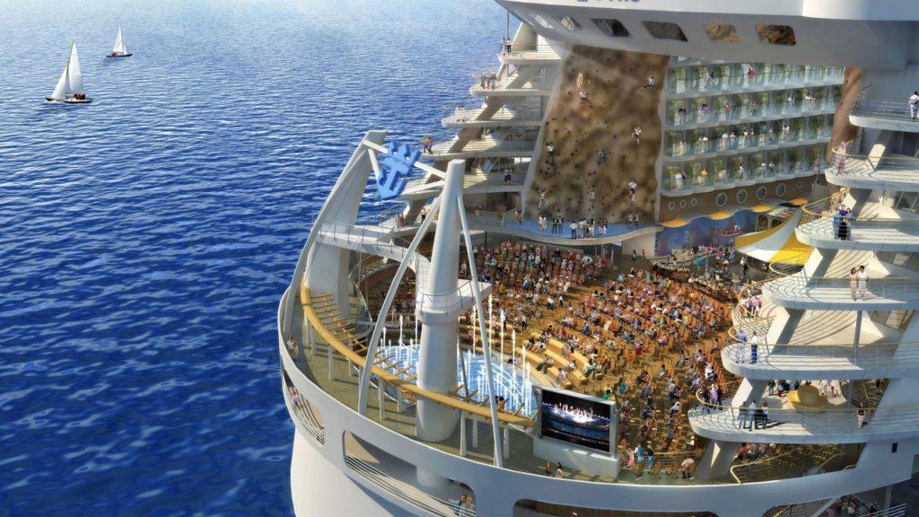 Royal Caribbean anuncia el crucero más grande del mundo