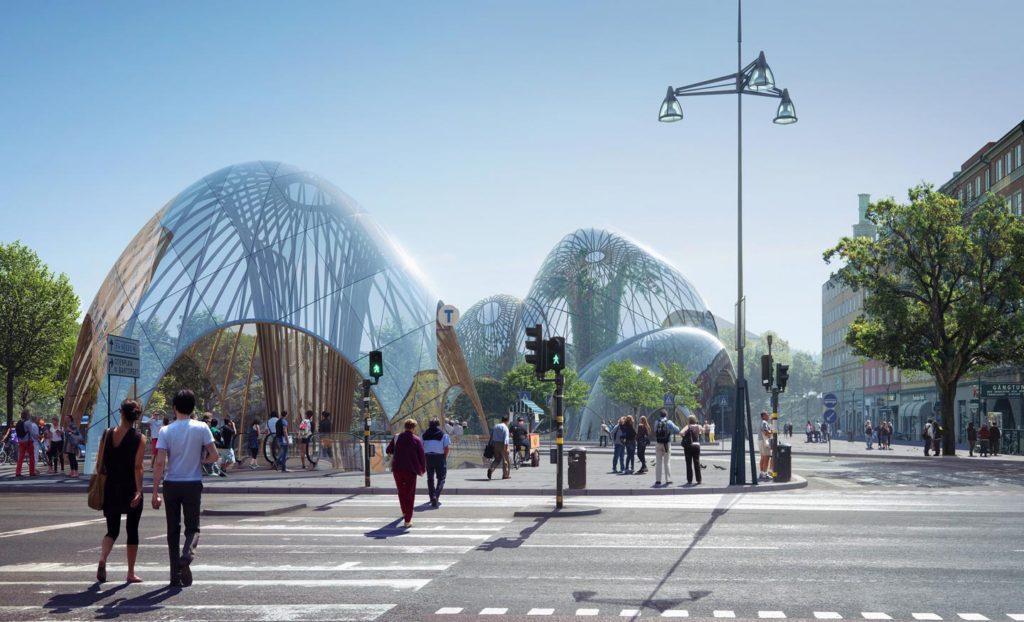Estocolmo propone estos imponentes parques cubiertos para el invierno