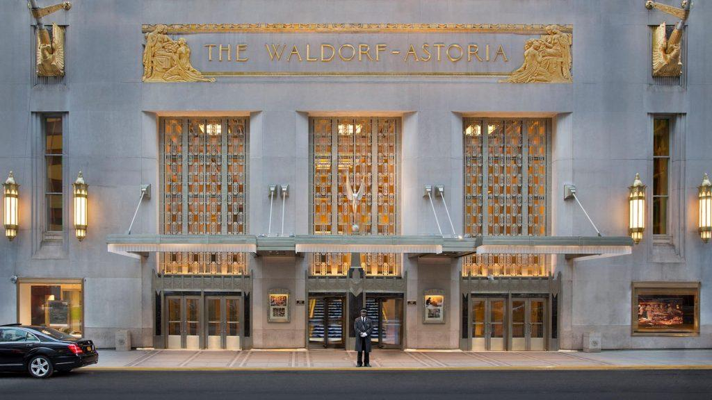El icónico Waldorf Astoria de Nueva York cierra sus puertas