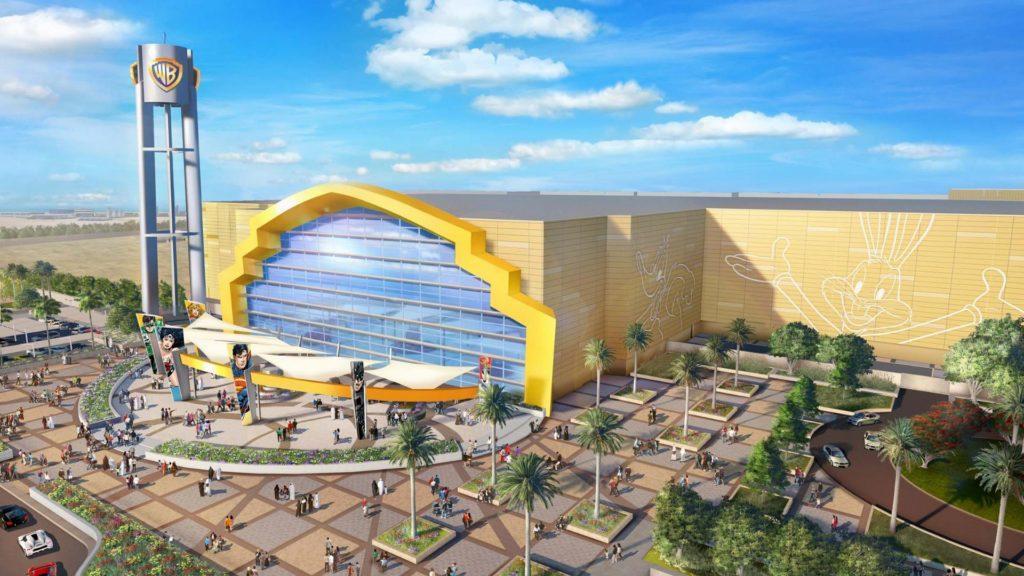 Cómo será Warner Bros World en Abu Dhabi