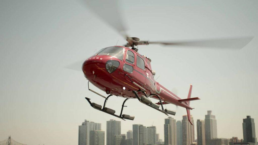 Del avión a la ciudad en helicóptero, el nuevo servicio de Delta en Nueva York
