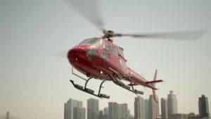 Del aeropuerto a la ciudad en helicóptero en solo 15 minutos