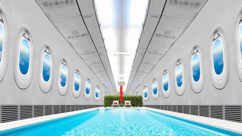 El avión de Emirates con piscina y el de Virgin que mueve sus alas como un ave