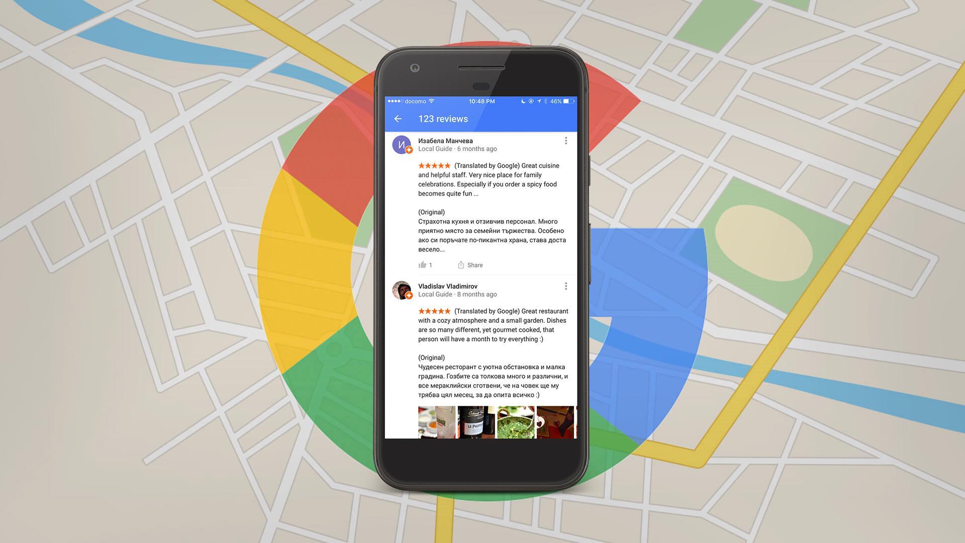 Google ahora traduce las críticas de forma automática, ideal para cuando viajamos