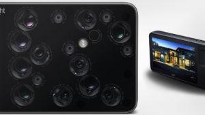 Así es la cámara con 16 lentes