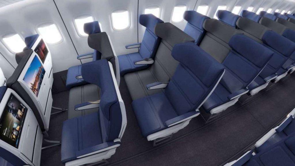 El diseño de avión que hará que queramos viajar en el asiento del medio