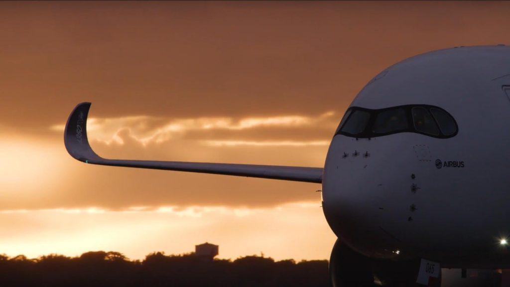 ¿Dónde debemos viajar si queremos subirnos al moderno Airbus A350-1000?